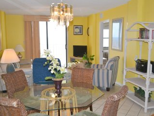 703 Sunswept 2 BD/2 BATH  Gulf Front Condo DIRECTLY on the beach