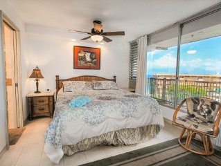 Wonderful oceanfront, two bedroom, two bath condo, with magnificent views, MANA
