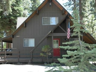 Espinosa: 3 BR / 2 BA house/cabin in Carnelian Bay, Sleeps 6