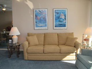 COZY ONE BEDROOM OCEAN FRONT CONDO IS CALLING YOU!