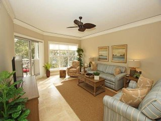 5301 Hampton Place: 1 BR / 2 BA oceanfront villas in Hilton Head Island, Sleeps