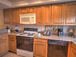 2BR / 2BA -  Beautiful view of the Gulf and Pool