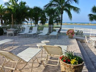 2B/2B Gorgeous Beach Front Corner Condo With Endless Views of Gulf of Mexico