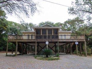 Morillo's Miracle - Comfy,5FB Quiet Getaway Home on Edisto Beach