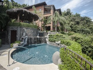 Beautiful ground floor Condo, great for families, next to pool at Los Suenos!