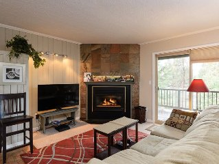 A charming ground floor unit newly decorated and in the Deschutes forest!
