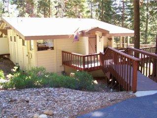 Classic 3br Tahoe Cabin in Cedar Flat - Great Value!!!