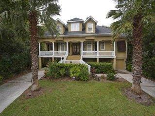 10 Dove Street: 5 BR / 4 BA near ocean homes in Hilton Head Island, Sleeps 10