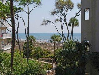 4203 Windsor Court: 1 BR / 2 BA oceanfront villas in Hilton Head Island, Sleeps