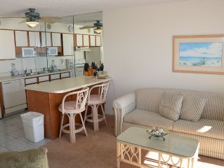 BEAUTIFUL 2 BEDROOM OCEAN FRONT CONDO