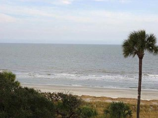 1408 Villamare: 2 BR / 2 BA oceanfront villas in Hilton Head Island, Sleeps 8