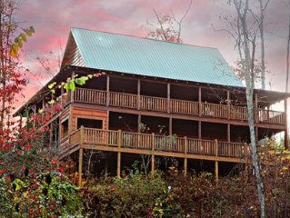 Off the Clock, Vaulted Ceilings, Stacked Fireplace, Wrap-around Porches