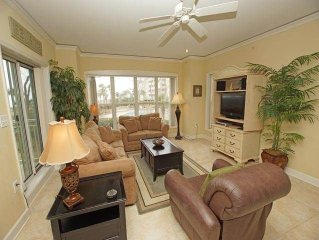 6108 Hampton Place: 3 BR / 3 BA oceanfront villas in Hilton Head Island, Sleeps