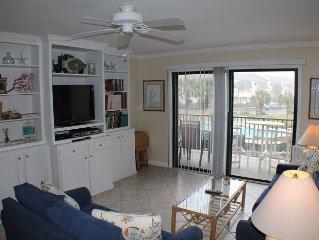Ocean View Condo, Wifi, 4 heated pools, Tennis Courts, Shuffleboard, WIFI