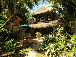 Super cute tropical beach house for up to 6 guests. Get away from it all.