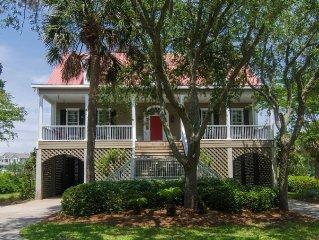 Cat's Cottage - 5BR/4BA Beach Walk Home With Views & Tasteful Decor