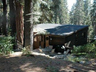 Jordan: 1 BR / 1 BA house/cabin in Tahoe City, Sleeps 2