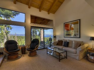 Cedar Summit: 2  BR, 2  BA Townhouse in Carnelian Bay, Sleeps 5