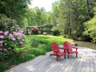 Cozy 3 bed home located in a private cove stylish