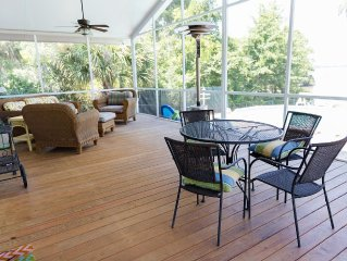 Periwinkle Place in Pigeon Point, 2 bedroom river