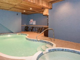 Forested with an Indoor Pool with Waterfall, Theater Room and Hot Tub Minutes a