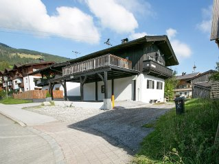 A detached, luxury chalet very near Kirchberg.