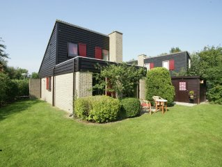 Detached 4 persons holiday house.