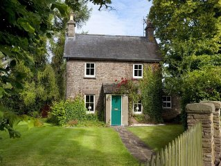 Delightful Victorian Cottage in Brecon with excellent chimney of natural stone