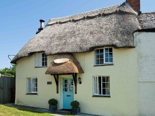 Delightful thatched cottage in the lovely village of Tregony on the Roseland Pe
