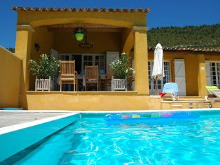 Beautiful, spacious villa with private swimming pool near recreation lake Lac d