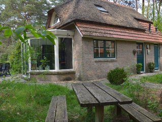 This thatch-roofed holiday home has real character