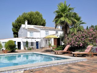 Rural farmhouse with private pool in Villanueva de Rosario, Malaga