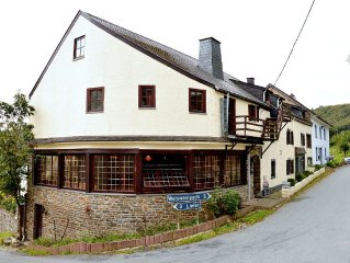 Authentic group accommodation with beautiful dining room and bar