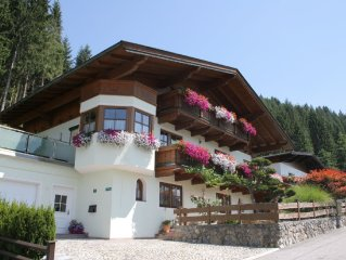 A pleasant, detached house 2 km from the Salvistabahn.