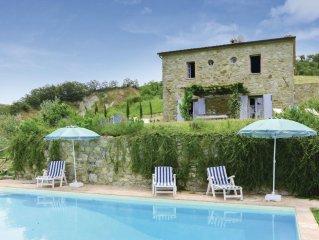 Charakteristisches Landhaus im Suden der Toskana