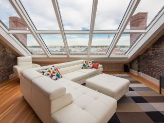 Luxury Old Port Penthouse Suite w/Stunning Harbor Views. Parking. Safe + Secure.