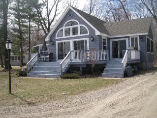 Waterfront Home with Beautiful Beach on Ossipee Lake