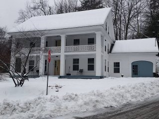 Historic Ski Home - 8 min to Mount Snow