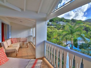 Charming Tropical Condo 2 Steps From Anse Marcel Beach