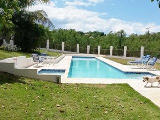 Rincon Puerto Rico Hilltop Villa 2-Bedroom Apartment with lap pool/Jacuzzi