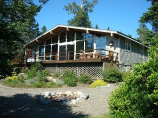 Ocean Front Home on the Water with Spectacular Views of Penobscot Bay