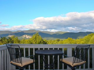 Sunny Condo w/ Outlet Shops, Expansive Mountain, Valley Views Near North Conway