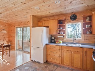 Pristine Mountaintop Log Cabin in Pine Forest, 1.5 Miles to Town!
