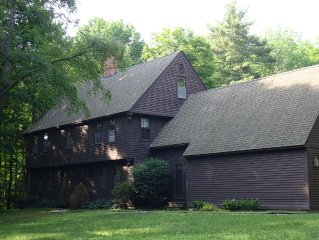 Historic Home on 8.5 Acres Heated Pool A/C  ALL sleeping areas