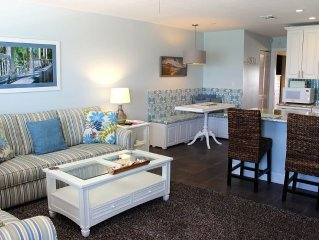 Ocean-front Condo On Picturesque And Peaceful Sunset Beach