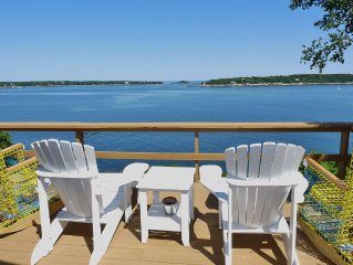 LobsterCliff Cottage,  Charming Oceanfront with Sweeping Panoramic Views!