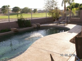 Family Friendly Home with HEATED/COOLED Pool Located on a Golf Course