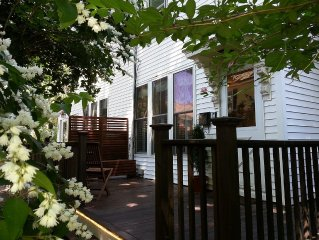 Cozy and Clean Duplex with Porch in Popular Jamaica Plain ('JP') Part of Boston