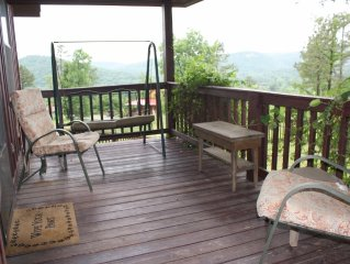 Bluff View Cabin, Mountain View Arkansas.  Great Views