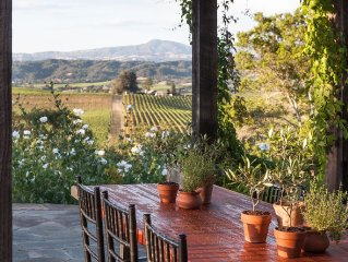 Dry Creek Farm--Vineyard, Pool and Spa with Stunning View, Dog friendly